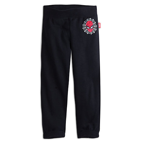 Spider-Man Fleece Tracksuit Bottoms For Kids