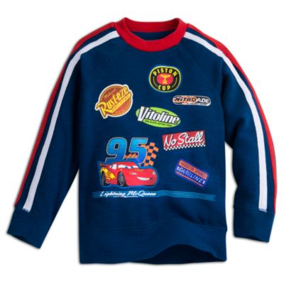 Sweatshirt Flash McQueen de Disney Pixar Cars pour enfants