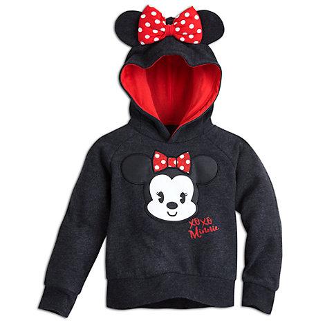 Disney Tsum Tsum - Minnie Maus Kapuzen-Sweatshirt für Kinder
