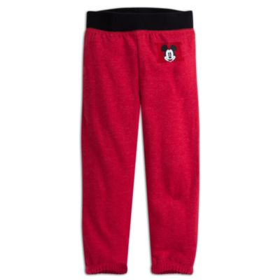 Mickey Mouse Classic Tracksuit Bottoms For Kids