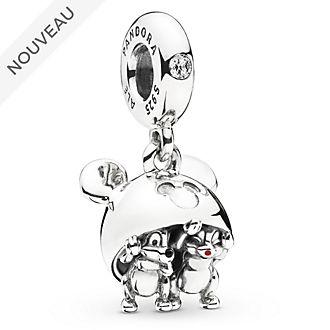 Pandora Charm Chapeau à oreilles de Mickey avec Tic et Tac, Disneyland Paris