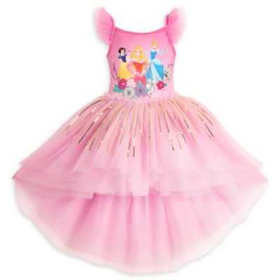 Luksuriøs balletdragt med Disney-prinsesser