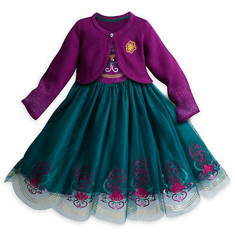 Frozen Party Dress and Cardigan For Kids