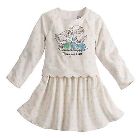 Robe La Reine des Neiges Collection Animators pour enfants