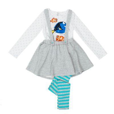 Ensemble robe chasuble 3 pièces Le Monde de Dory pour enfants