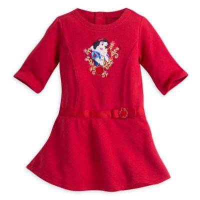 Snövit 2-delad klänning