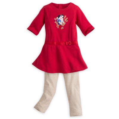 Set vestito bimbi 2 pezzi Biancaneve