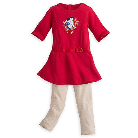 Conjunto infantil vestido 2 piezas Blancanieves