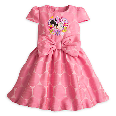 Minnie Mouse Party Dress For Kids