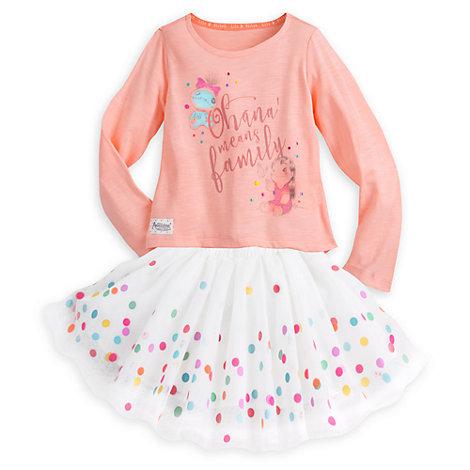 Conjunto de camiseta y falda de Lilo y Stitch de la colección Disney Animator