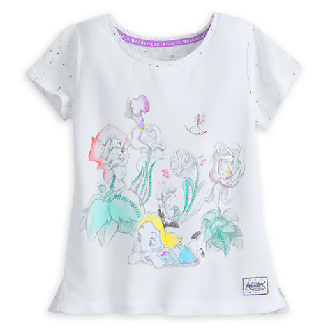 Alice In Wonderland T-Shirt For Kids, Disney Animators' Collection