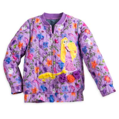Rapunzel Quilted Jacket For Kids, Tangled: The Series