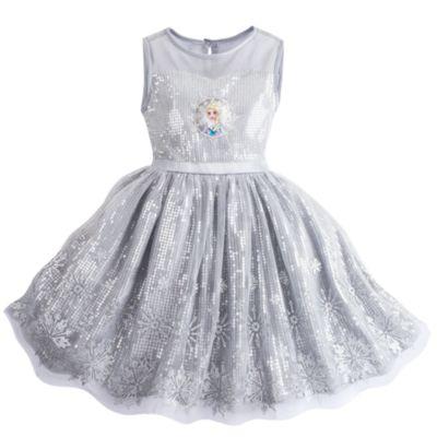 Robe habillée la Reine des Neiges pour enfants