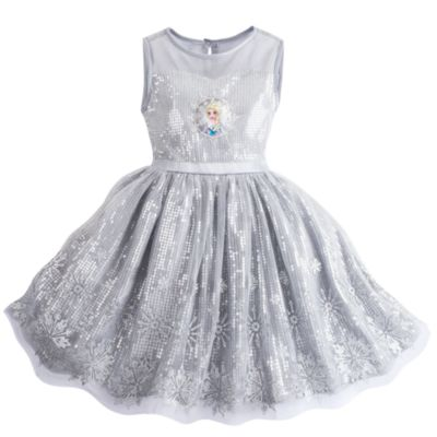 Vestido infantil de fiesta Frozen