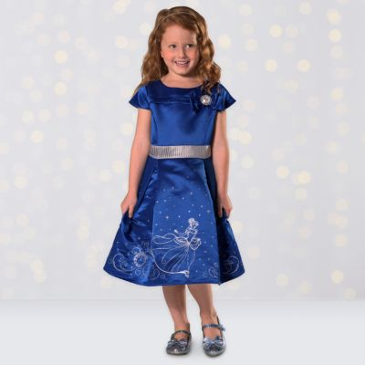 Cinderella Party Dress For Kids