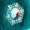 Die Eiskönigin - völlig unverfroren - Weste aus Kunstpelz für Kinder