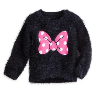 Pull Minnie Mouse avec noeud pour enfants