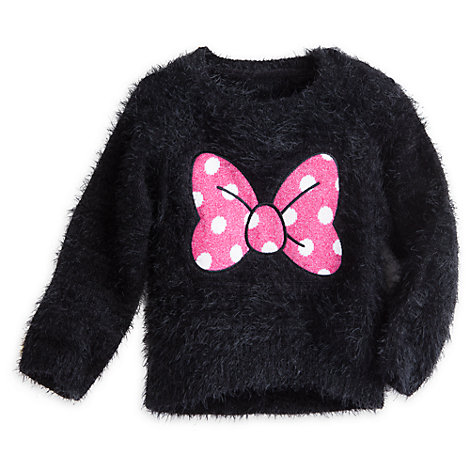 Minnie Mouse trøje med sløjfe