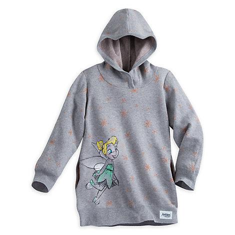 Sudadera infantil capucha Campanilla, colección Animators