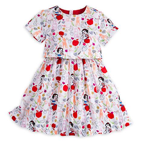 Vestido infantil Blancanieves