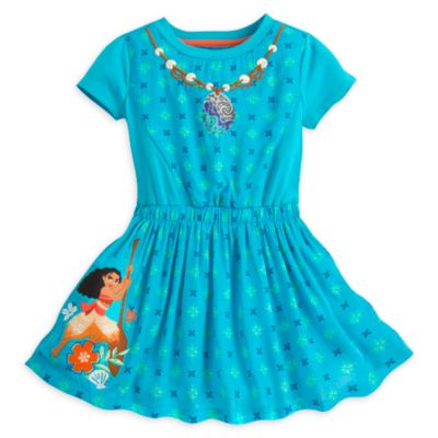 Conjunto infantil de vestido y leggings de Vaiana