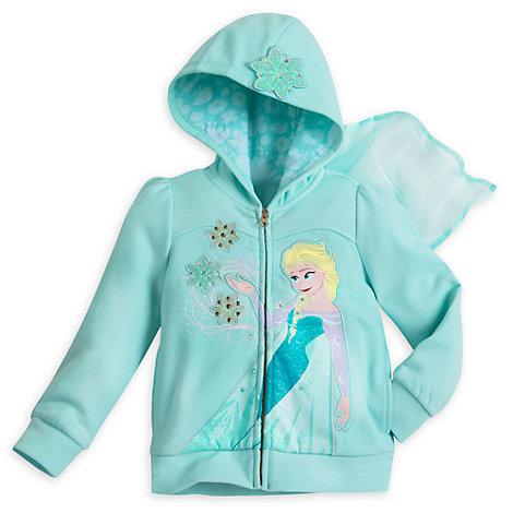 Sweatshirt à capuche pour enfants La Reine des Neiges