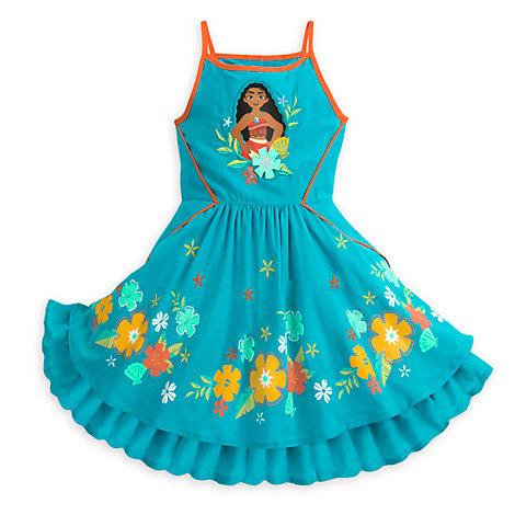 Vestido infantil de verano de Vaiana