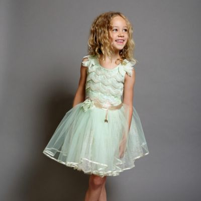 Tinker Bell Party Dress For Kids