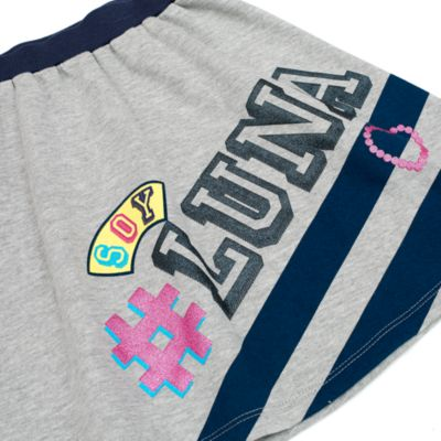 Conjunto infantil falda 2 piezas Soy Luna