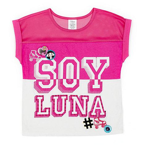Camiseta infantil baloncesto Soy Luna