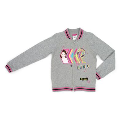Soy Luna Varsity Style Zip Top For Kids