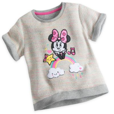 Minnie Mouse Top and Skirt Set For Kids