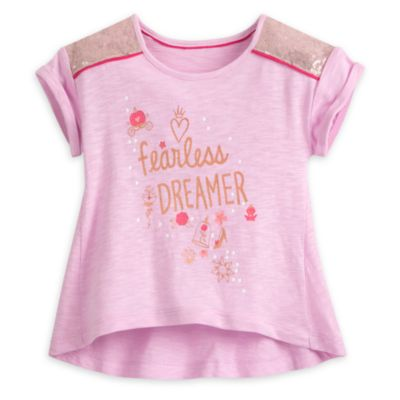 Disney Princess Top and Leggings Set For Kids