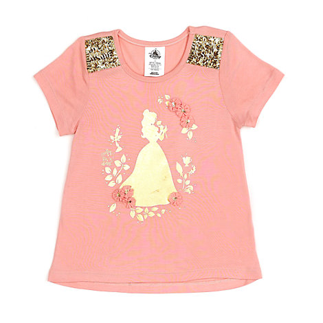 Belle T-Shirt For Kids, Beauty And The Beast