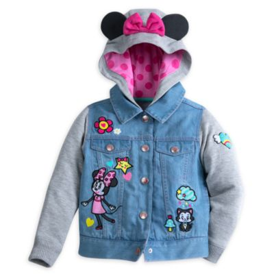 Minnie Mouse Hooded Jacket For Kids