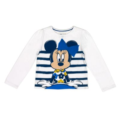 Minnie Mouse sæt med top og nederdel til børn