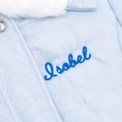 Manteau d'hiver en fausse fourrure de luxe Cendrillon pour enfants