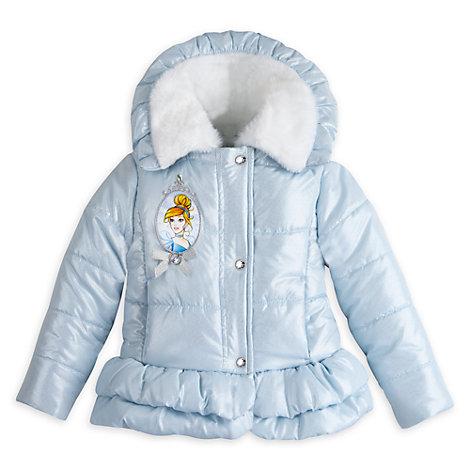 Cinderella - Winterjacke Deluxe mit Kunstpelz für Kinder