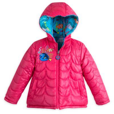 Giacca reversibile invernale da bambina Alla ricerca di Dory