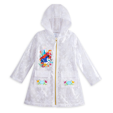 Frozen Rain Jacket For Kids