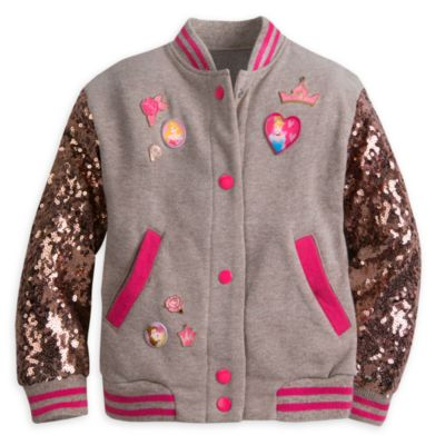 Disney Princess Varsity Jacket For Kids