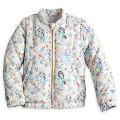 Disney Animators' Collection Quilted Jacket For Kids