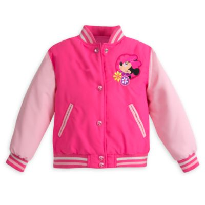 Chaqueta universitaria infantil de Minnie