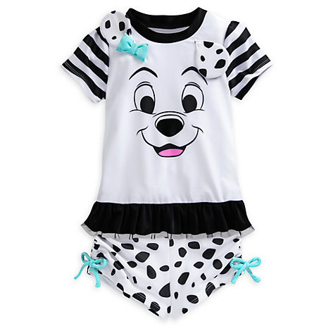 101 Dalmatians 2 Piece Rash Top Set For Kids