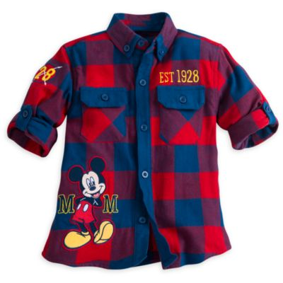 Mickey Mouse Long Sleeve Shirt For Kids