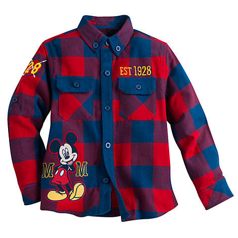 Micky Maus - Hemd langärmelig für Kinder