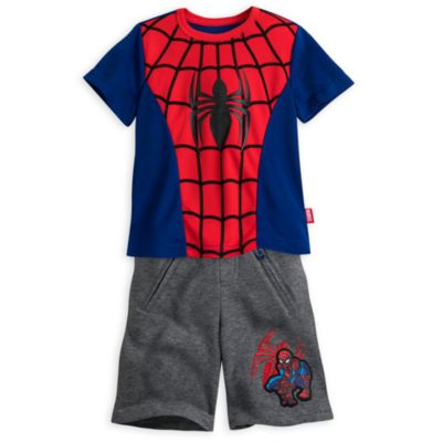 Ultimate Spider-Man T-Shirt and Shorts Set For Kids