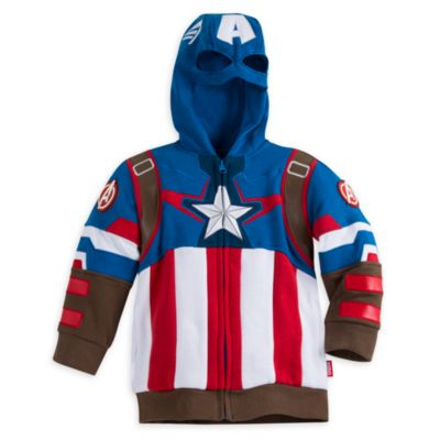 Captain America Hooded Sweatshirt For Kids