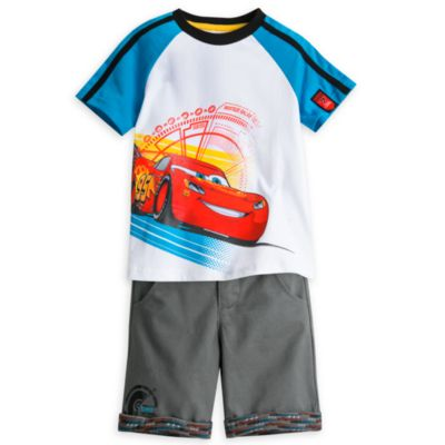 Disney Pixar Cars 3 Top and Short Set For Kids