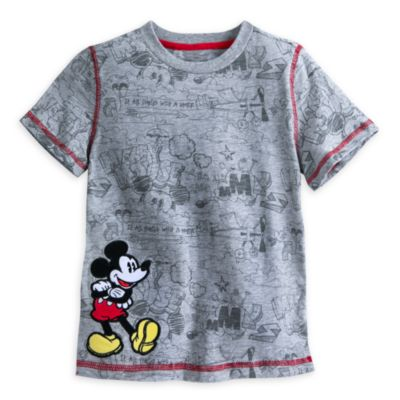 Mickey Mouse Gilet and T-shirt Set For Kids